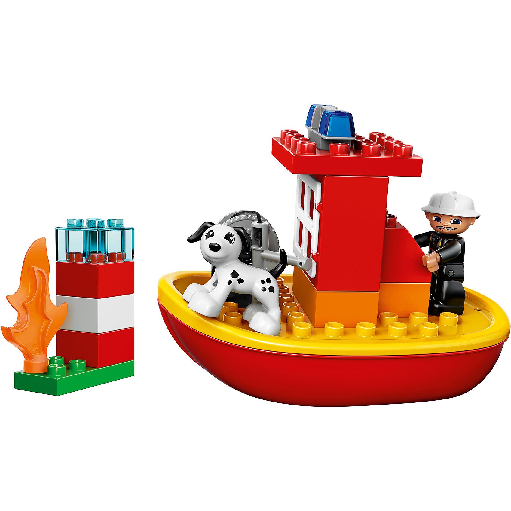 LEGO DUPLO 10591: Пожарный катер