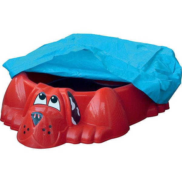 все цены на PalPlay Бассейн-песочница Собачка с покрытием, красный, PalPlay онлайн