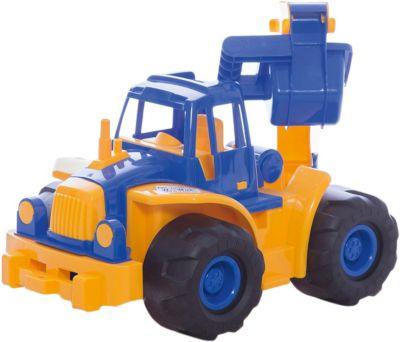 Трактор  Богатырь  с ковшом, Нордпласт, артикул:4060314 - Детская площадка