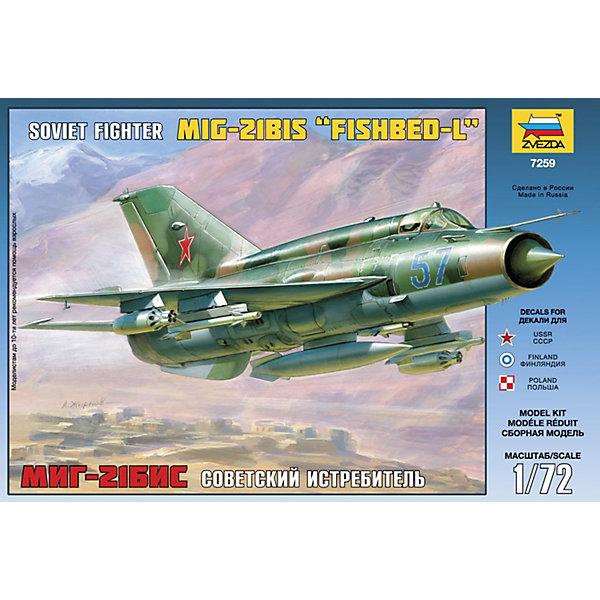 цена на Звезда Сборная модель Истребитель МиГ-21БИС, Звезда