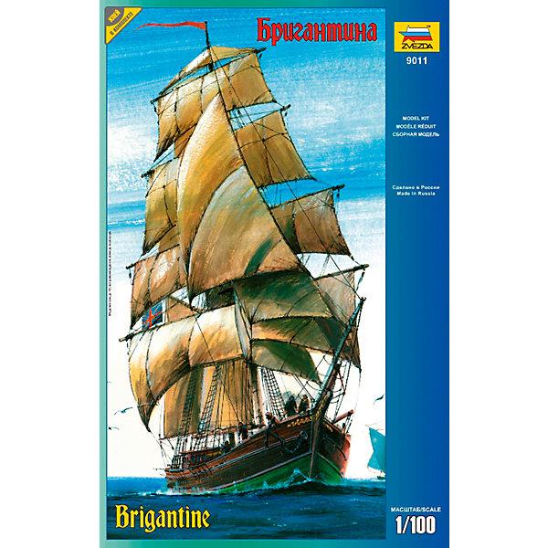 Звезда Сборная модель корабля Бригантина,