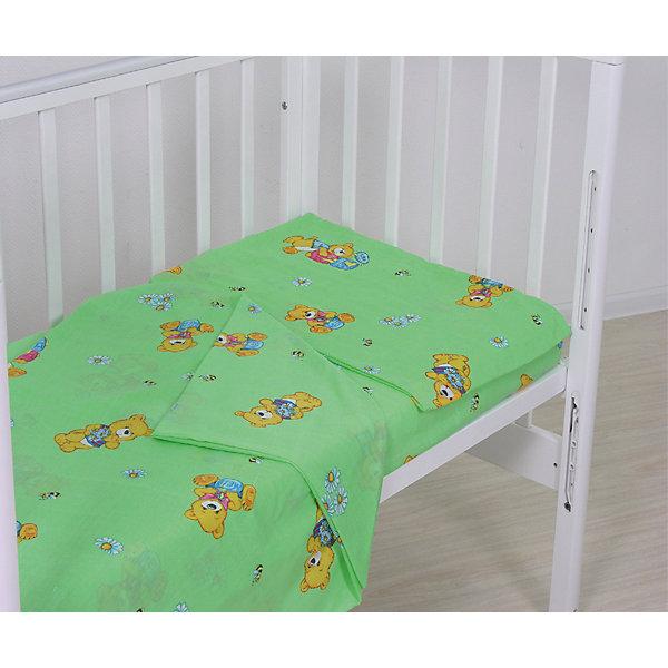 Наволочка Мишки 40х60 Фея, зеленыйПостельное белье в кроватку новорождённого<br>Наволочка выполнена из высококачественного гипоаллергенного материала  материала приятного к телу и безопасного для детей. Изделие имеет приятную расцветку, декорировано милым принтом: может подойти к белью различной расцветки. <br><br>Дополнительная информация:<br><br>- Материал: хлопок 100%.<br>- Размер: 40х60 см. <br>- Цвет: зеленый.<br>- Декоративные элементы: принт.<br><br>Наволочку Мишки 40х60 Фея, зеленую, можно купить в нашем магазине.<br>Ширина мм: 50; Глубина мм: 400; Высота мм: 400; Вес г: 100; Возраст от месяцев: 0; Возраст до месяцев: 12; Пол: Унисекс; Возраст: Детский; SKU: 4067727;