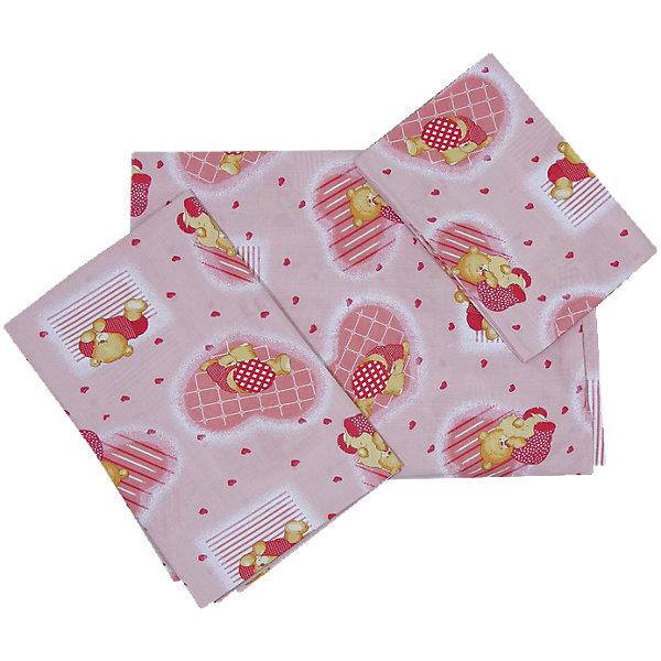 Простыня на резинке  Мишки Фея, розовыйПостельное белье в кроватку новорождённого<br>Простыня выполнена из высококачественного гипоаллергенного материала безопасного для детей. Имеет удобный размер: хорошо заправляется, подходит для стандартных матрасов. Изделие имеет приятную расцветку, декорировано милым принтом: может подойти к белью различной расцветки. <br><br>Дополнительная информация:<br><br>- Материал: хлопок 100%.<br>- Размер: 100х160 см. <br>- Цвет: розовый.<br>- На резинке.<br>- Декоративные элементы: принт.<br><br>Простыню на резинке  Мишки Фея, розовую, можно купить в нашем магазине.<br>Ширина мм: 50; Глубина мм: 400; Высота мм: 400; Вес г: 100; Возраст от месяцев: 0; Возраст до месяцев: 36; Пол: Женский; Возраст: Детский; SKU: 4067743;