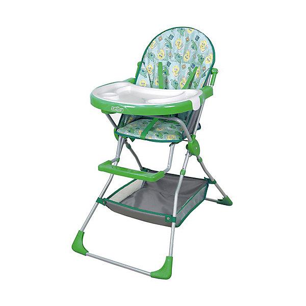 Selby Стульчик для кормления 252 Selby, зеленый стульчик для кормления selby 252 зеленый 0005602 05