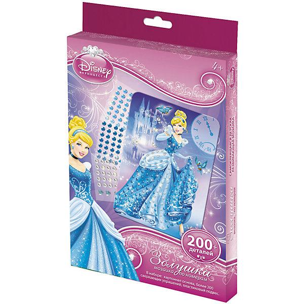 Origami Самоклеющаяся мозаика Золушка, Принцессы Дисней кукла золушка 7 5 см принцессы дисней