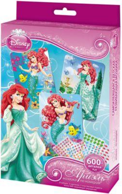 Мозаика-набор 3 в 1  Ариель , Принцессы Дисней, артикул:4075971 - Принцессы Дисней