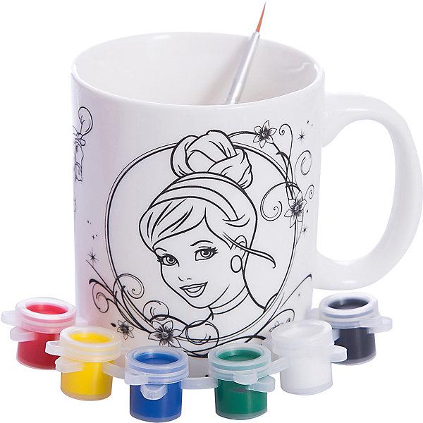 Играем вместе Набор для росписи кружки Золушка, Принцессы Дисней mattel кукла золушка принцессы дисней