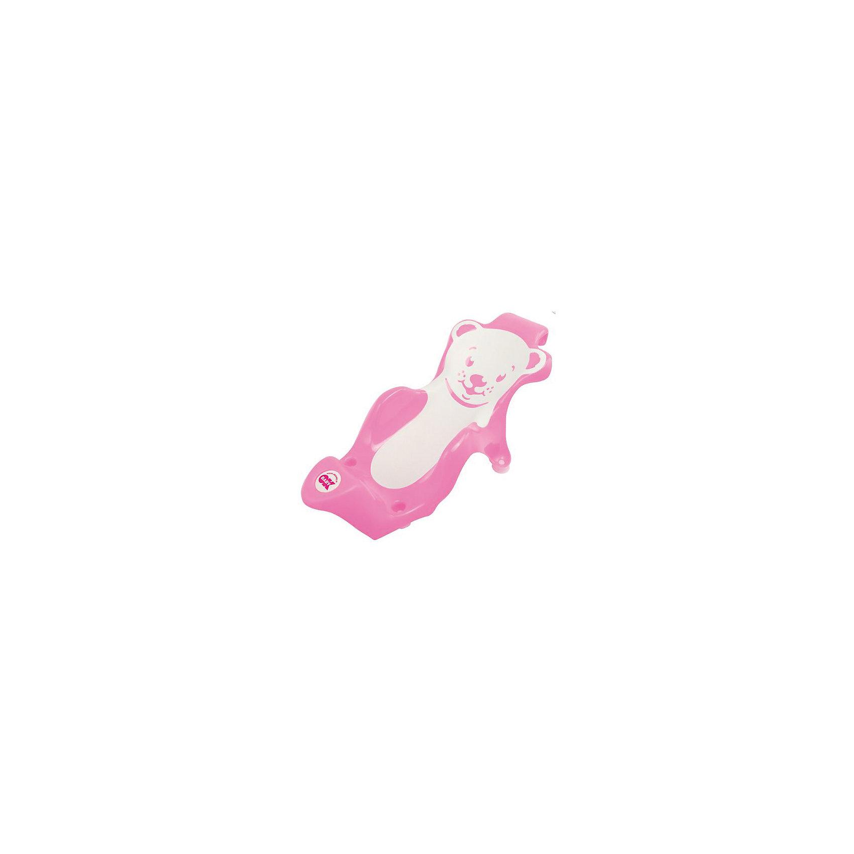 Горка для купания Buddy, Ok Baby, розовый (OK Baby)