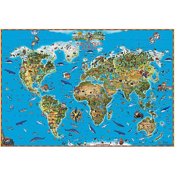 Издательство Ди Эм Би Карта Обитатели Земли издательство ди эм би карта игра европа кругосветка