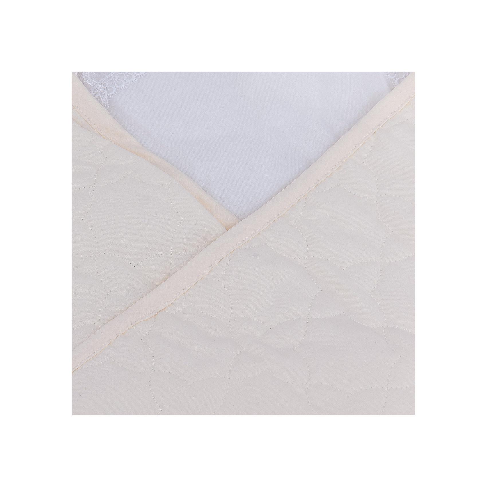 Конверт-одеяло на выписку Ласточка Сонный гномик, бежевый