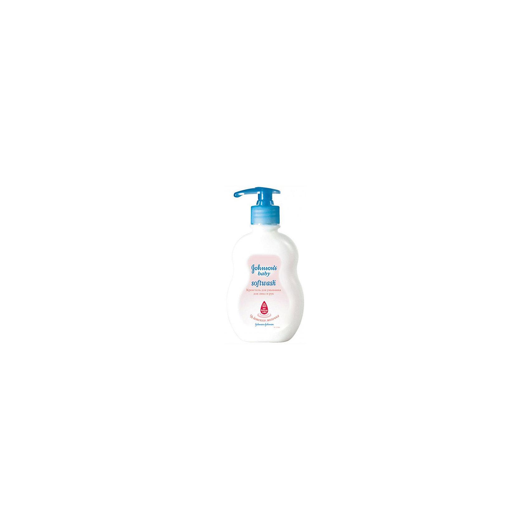 Крем-мыло для лица и рук 300 мл., Johnson s baby (Johnsons baby)