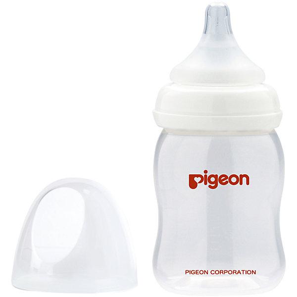 Pigeon Бутылочка для кормления PP с широким горлом 160 мл,