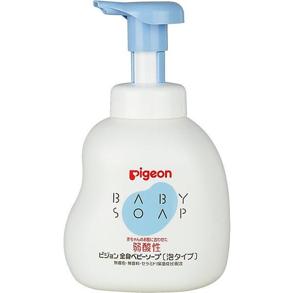 Мыло-пенка для младенцев 500 мл, Pigeon фото