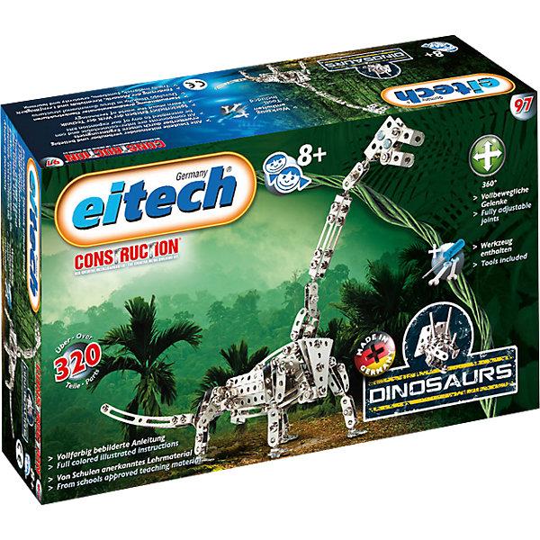 eitech Металлический конструктор Eitech Динозавр-Брахиозавр,320 деталей