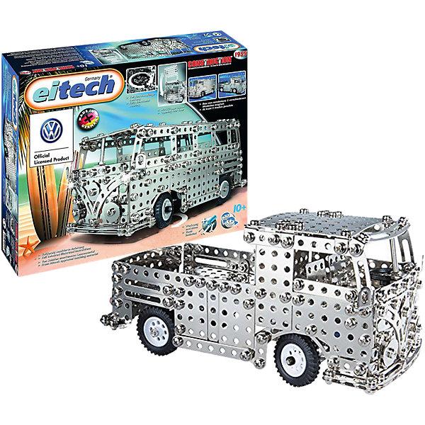 Фото - eitech Металлический конструктор Eitech Автобус, 720 деталей конструктор автомобильный парк 7 в 1