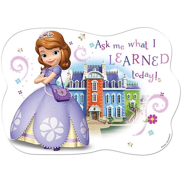 Limpopo Подкладка для лепки Принцесса София 15*21 см обучающая книга азбукварик я прекрасная принцесса 9785490001553