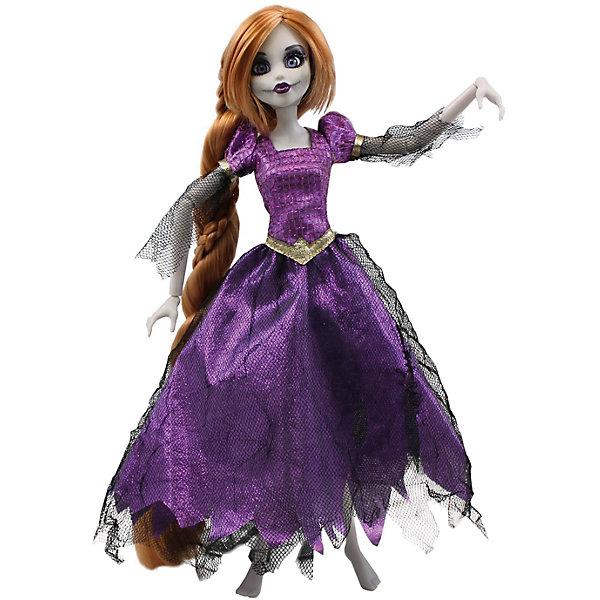 Кукла Зомби: Рапунцель, WowWeeБренды кукол<br>Кукла Зомби: Рапунцель от WowWee - это сказочный персонаж , превращенный в загадочную и холодную принцессу-зомби. Несмотря на превращение, принцесса не утратила своей красоты, даже наоборот, приобрела определенный потусторонний шарм и очарование. Невероятно длинные русые волосы куклы очень приятны наощупь, из них получится много оригинальных причесок. Рапунцель одета в прекрасное фиолетовое платье с приталенным лифом, пышной юбкой и подъюбником из сетки. Собери всю коллекцию принцесс-зомби и устрой незабываемый бал!<br><br>Дополнительная информация:<br><br>- Материал: пластик, текстиль.<br>- Высота куклы: 28 см.<br>- Комплектация: кукла, расческа, подставка.<br>- Руки, ноги, голова куклы подвижные.<br><br>Куклу Зомби: Рапунцель, WowWee, можно купить в нашем магазине.<br>Ширина мм: 150; Глубина мм: 70; Высота мм: 350; Вес г: 150; Возраст от месяцев: 72; Возраст до месяцев: 168; Пол: Женский; Возраст: Детский; SKU: 4134076;