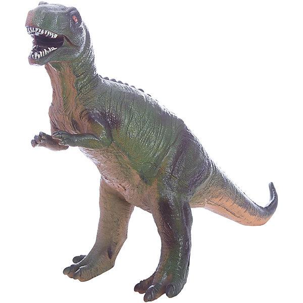 Фигурка динозавра Мегалозавр, HGLМир животных<br>Детей всех возрастов привлекают фильмы и рассказы о доисторических временах и чудесных динозаврах, населявших Землю до возникновения человека. Подстегните фантазию юного любителя древностей - подарите ему динозавра из серии игрушек HGL. Специалисты компании создавали игрушки максимально похожими на своих прародителей, поэтому динозавры HGL такие интересные. Мегалозавр - фигурка огромного доисторического ящера. Он достигал в длину 9 метров, обладал огромной челюстью и по мнению ученых, питался другими динозаврами. Мегалозавр был очень быстрым, благодаря тому, что легко передвигался на задних мощных лапах. Он был одним из самых опасных хищников, населявших Землю более 170 миллионов лет тому назад. Ни одна история об эре динозавров невозможна без этого свирепого хищника. Ребенок будет в восторге от такого замечательного подарка. Массивный динозавр сделан из мягкого ПВХ безопасного для ребенка. Внушительные размеры и отличная детализация Мегалозавра помогут ребенку окунуться в далекий и такой манящий доисторический мир, полный приключений.<br><br>Дополнительная информация:<br><br>- Внешний вид фигурки основан на реальных данных палеонтологов;<br>- Материал: ПВХ;<br>- Размер фигурки: 40 см;<br>- Размер упаковки: 35 х 29 х 17 см;<br>- Вес: 750 г<br><br>Фигурку динозавра Мегалозавр, HGL можно купить в нашем интернет-магазине.<br>Ширина мм: 350; Глубина мм: 290; Высота мм: 170; Вес г: 750; Возраст от месяцев: 36; Возраст до месяцев: 192; Пол: Унисекс; Возраст: Детский; SKU: 4135940;