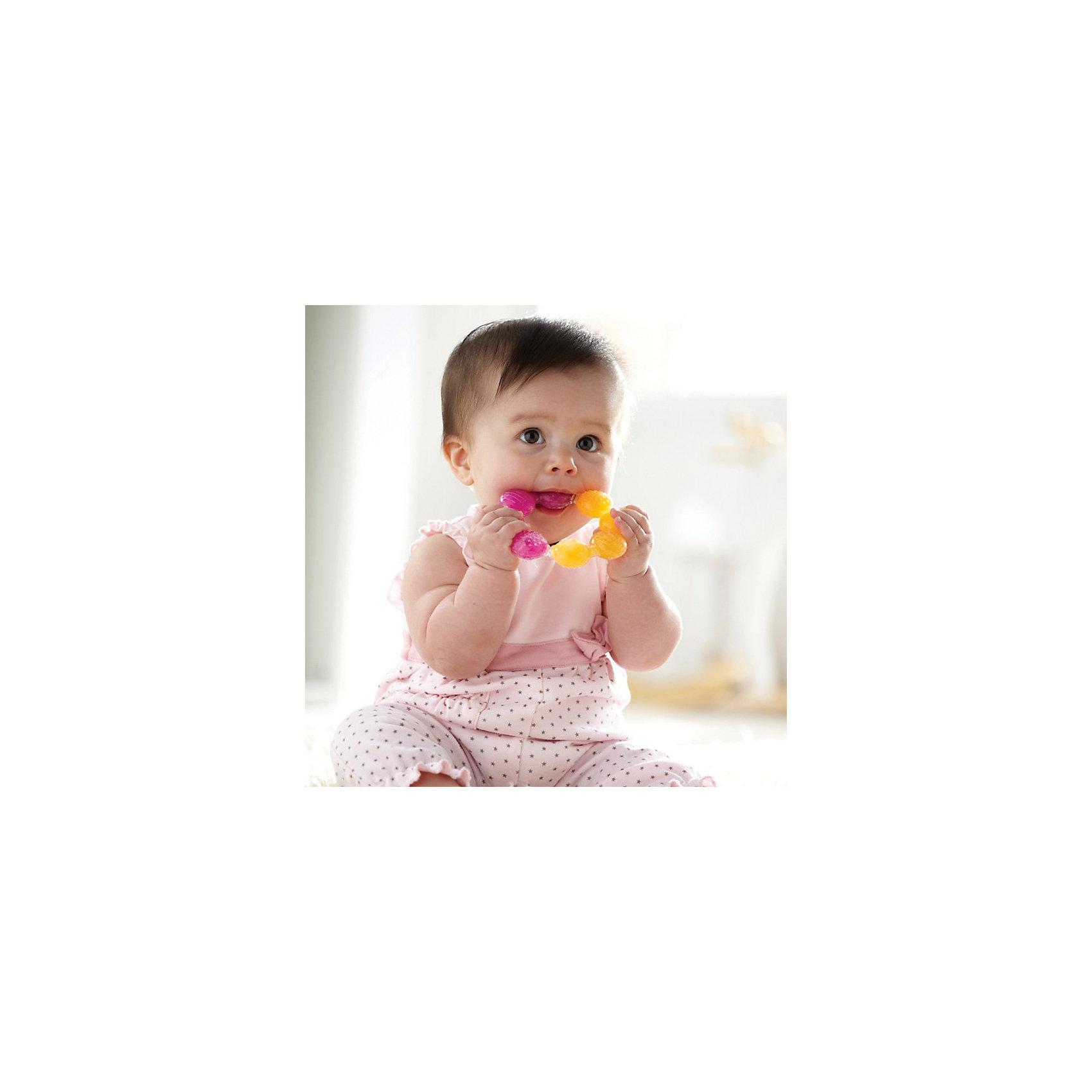 Игрушка  прорезыватель Цветок , Munchkin, рыжий-розовый (munchkin)