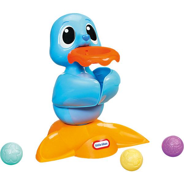Развивающая игрушка Морской лев, со звуком, Little TikesИнтерактивные игрушки для малышей<br>Развивающая игрушка Морской лев, со звуком, Little Tikes (Литтл Тайкс) поможет малышу в игровой форме освоить множество полезных навыков, а 5 веселых песенок и радостное одобрение львенка будут стимулировать ребенка к дальнейшим достижениям! В пасти лев держит кольцо, в которое нужно положить один из мячиков. Когда ребенок попадает мячиком в кольцо, морской лев радуется вместе с ним и перекатывает мячик между плавниками, а затем отпускает его в основание игрушки.<br><br>Комплектация: морской лев с кольцом, 3 мячика<br><br>Дополнительная информация:<br>-Развивает: навыки сидения, ползания, координацию, мелкую моторику, причинно-следственные связи, логическое мышление, цветовосприятие<br>-Материалы: пластик<br>-Размеры в упаковке: 33х20,5х25,5 см<br>-Вес в упаковке: 1,25 кг<br>-Питание: от 3 батареек ААА (в комплект НЕ входят) <br><br>Развивающая игрушка Морской лев, со звуком, Little Tikes (Литтл Тайкс) можно купить в нашем магазине.<br>Ширина мм: 335; Глубина мм: 255; Высота мм: 205; Вес г: 928; Возраст от месяцев: 6; Возраст до месяцев: 36; Пол: Унисекс; Возраст: Детский; SKU: 4143732;