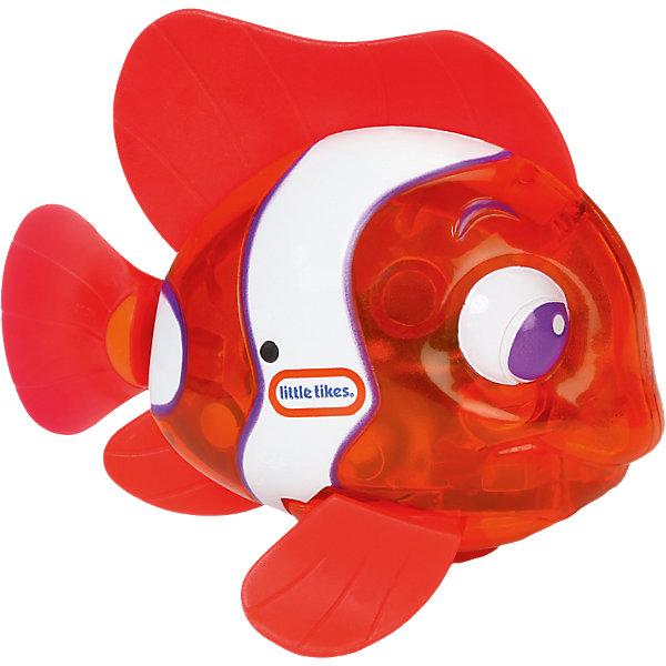 Little Tikes Игрушка для ванны Блестящая бухта Рыбка огонек: рыба-клоун