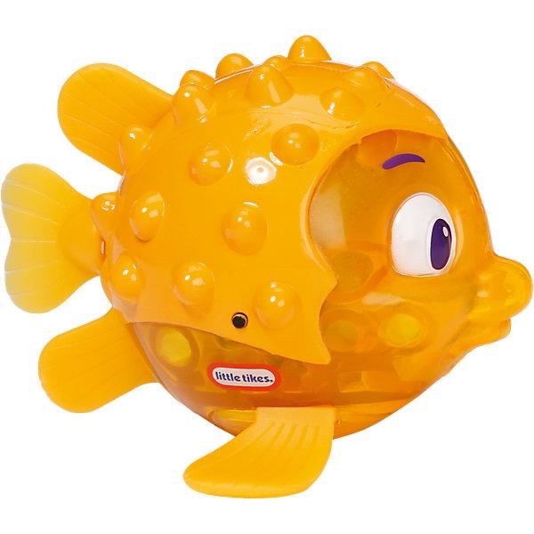 Little Tikes Игрушка для ванны Блестящая бухта Рыбка огонек: иглобрюх