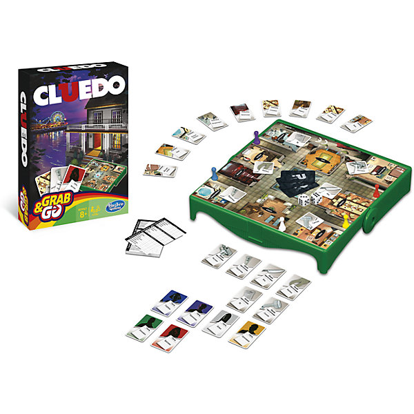 Hasbro Игра Клуэдо. Дорожная версия,