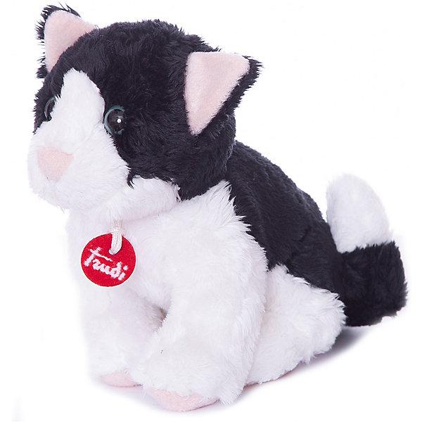Trudi Мягкая игрушка Trudi Кот, 15 см мягкая игрушка кот orange кот обормот меткий глаз искусственный мех плюш текстиль пластик 25 см