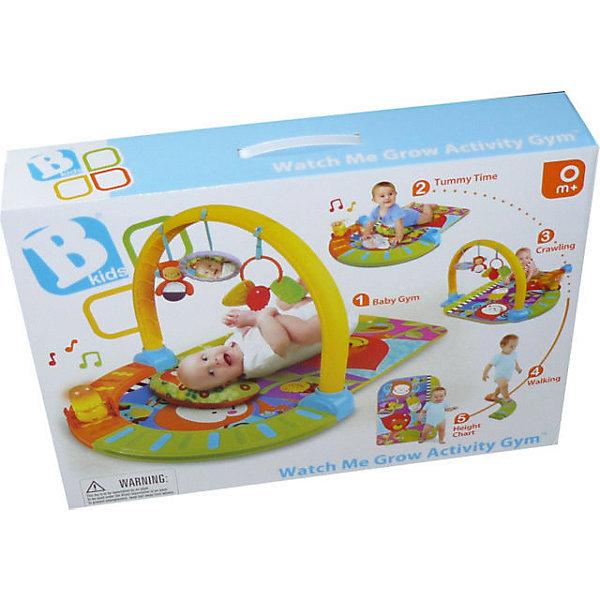 Infantino BKids Развивающий коврик с эффектами, Bkids игровой набор для купания баскетбол bkids