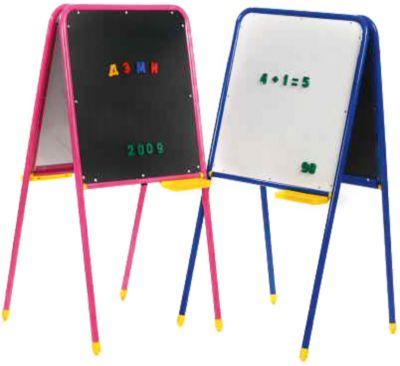 Мольберт + магнитная доска с буквами, Дэми (синий), артикул:4166696 - Рисование и раскрашивание