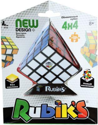 Головоломка Rubik's  Кубик Рубика  4х4, без наклеек, артикул:4166717 - Головоломки