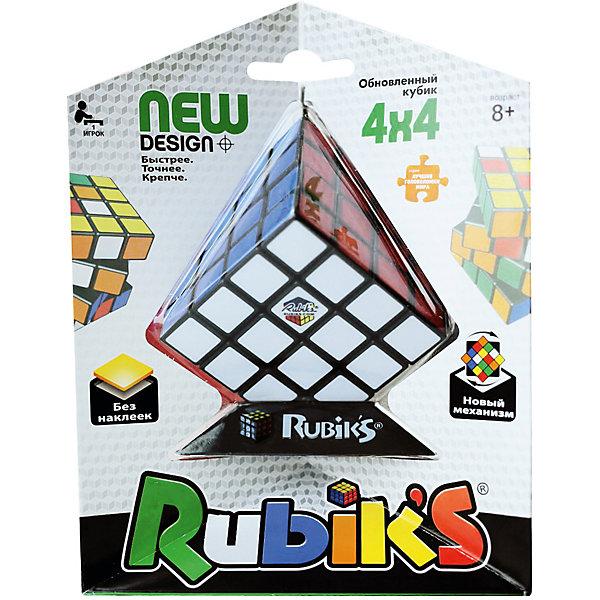 Rubik's Головоломка Rubik's Кубик Рубика 4х4, без наклеек dian sheng кубик рубика для соревнования развивающие игрушки ds 200