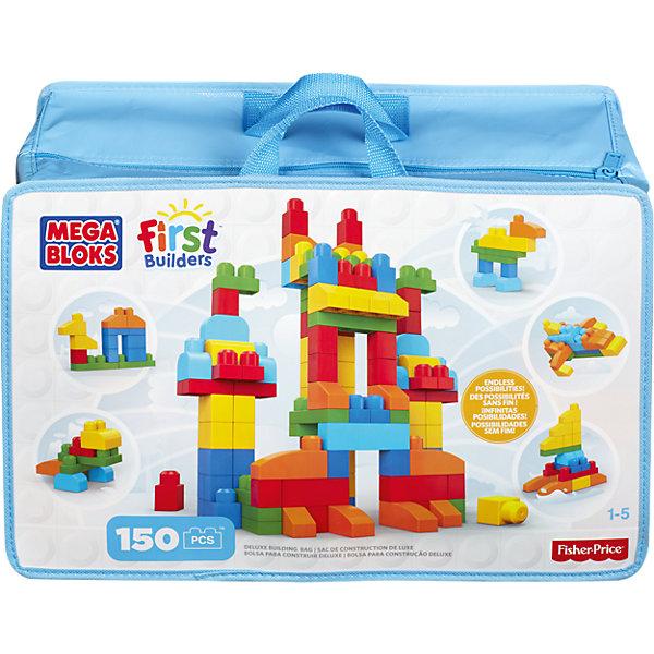 Купить Конструктор 150 деталей, MEGA BLOKS, Mattel, Китай, Унисекс