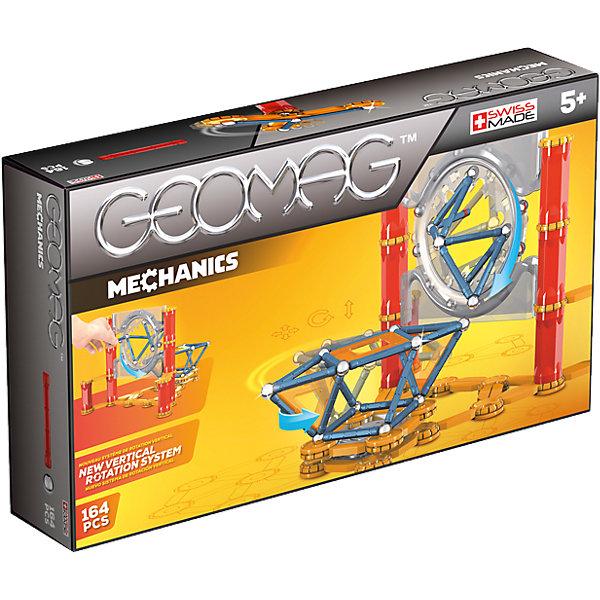 Магнитный конструктор Geomag Mechanics, 164 деталиМагнитные конструкторы<br>Характеристики:<br><br>• возраст: от 5 лет;<br>• материал: пластик, металл, магниты;<br>• комплектация: 164 дет.;<br>• размер: 22х7х38 см;<br>• вес: 1,29 кг;<br>• страна бренда: Швейцария;<br>• бренд: Geomag.<br><br><br>Магнитный конструктор Geomag  «Механика» состоит из шариков и палочек. Благодаря декоративным элементам на панелях, блоки предлагают еще больше творческих возможностей. <br><br>С помощью различных конструкций вы можете создавать разные структуры из научно-фантастических фильмов - только ваше воображение ограничивает вас.<br>Конструктор развивает воображение и пространственное мышление<br><br>Магнитный конструктор Geomag  «Механика» можно купить в нашем интернет-магазине.<br>Ширина мм: 385; Глубина мм: 218; Высота мм: 76; Вес г: 1237; Возраст от месяцев: 60; Возраст до месяцев: 120; Пол: Унисекс; Возраст: Детский; SKU: 4172466;