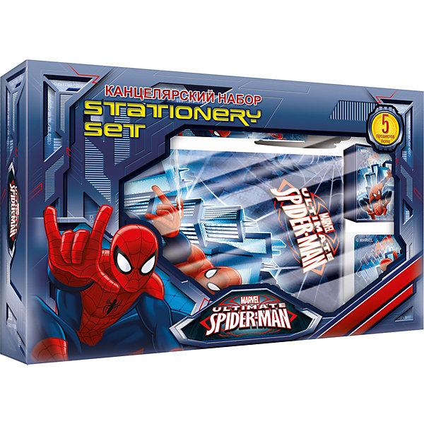 Академия групп Канцелярский набор Человек-Паук (5 предметов) набор канцелярский spider man classic 5 предметов smcb us1 360