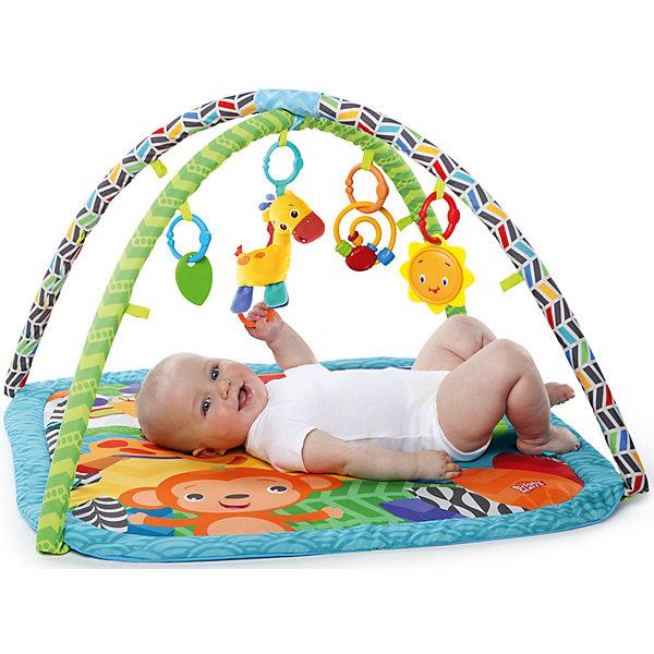 Купить Развивающий коврик Веселый жираф , Bright Starts, Kids II, Китай, Унисекс