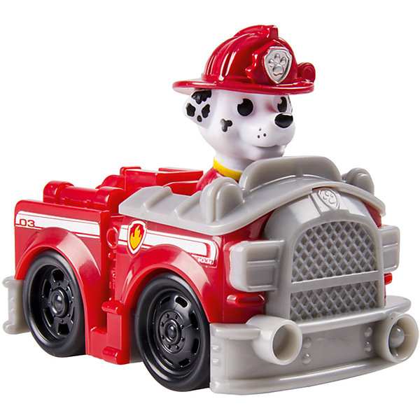 Купить Маленькая машинка спасателя Маршал , Щенячий патруль, Spin Master, Китай, красный, Мужской
