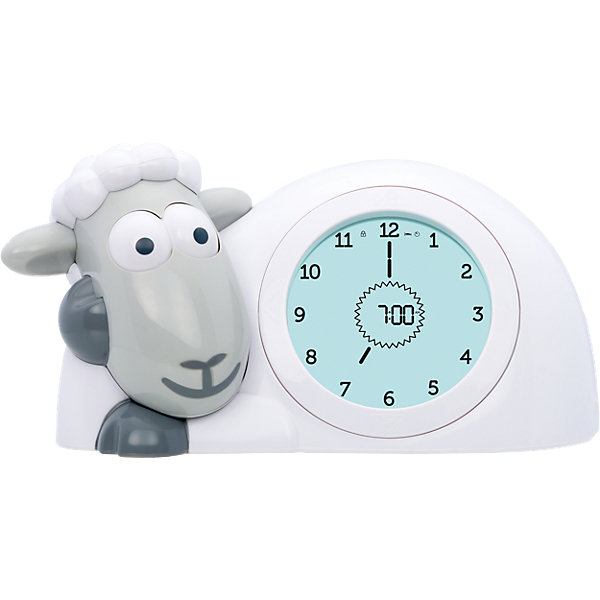 Купить Часы-будильник для тренировки сна Ягнёнок Сэм (SAM) ZAZU. Серый. 2+. Арт. ZA-SAM-01, Китай, серый, Унисекс