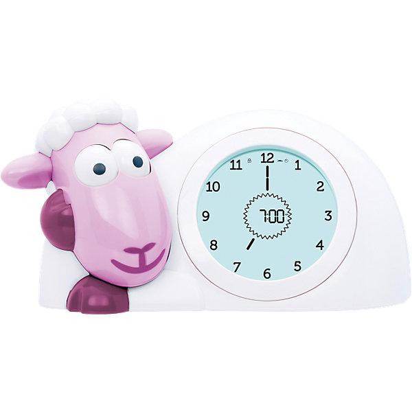 Фото - ZaZu Часы-будильник для тренировки сна Ягнёнок Сэм (SAM) ZAZU. Розовый. 2+. Арт. ZA-SAM-03 zazu ночник с датчиком звука сова лу lou zazu розовая 0 арт za lou 03