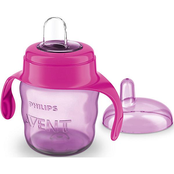 PHILIPS AVENT Чашка-поильник с носиком Comfort, 200 мл, Avent, /розовый warwick sasco поильник градуированный с широким носиком 200 мл