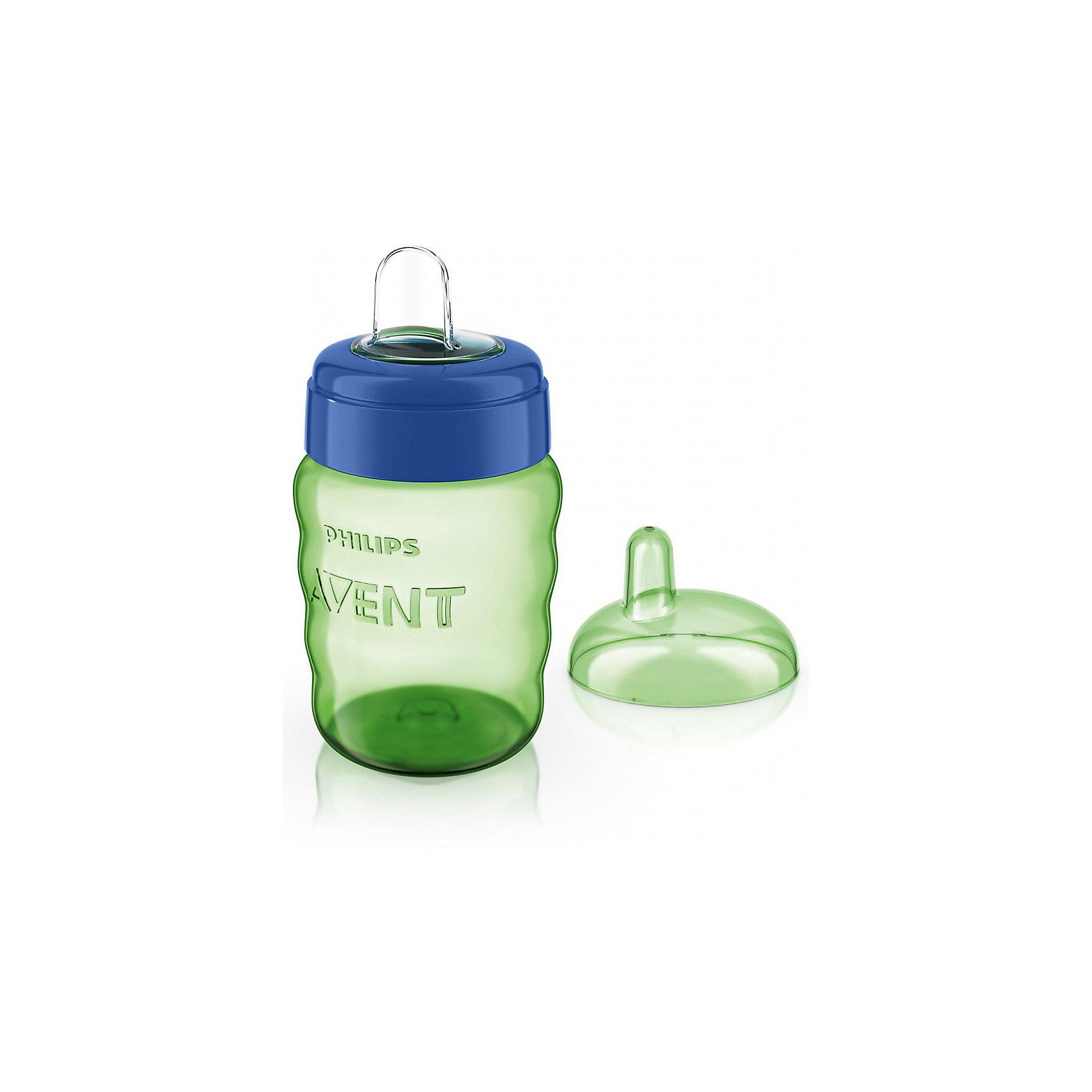PHILIPS AVENT Чашка-поильник с носиком Comfort, 260 мл, Avent, зеленый/синий