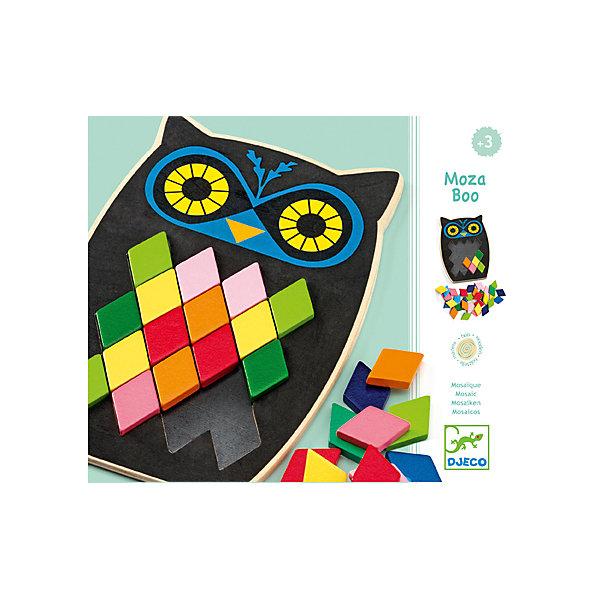 Мозаика Сова, DJECOОбучающие игры<br>Мозаика Сова, Djeco (Джеко) - красочная развивающая игра для самых маленьких. В комплект входит деревянная фигурка забавой совы и разноцветные детали-ромбики на магнитах. Малышу предлагается заполнить туловище совы с пустыми ячейками узором из ромбиков. Он может следовать инструкциям на карточках с заданиями или придумывать свои цветовые сочетания. Все детали изготовлены из высококачественных материалов и покрыты безопасными красками. Игра развивает творческое воображение, пространственное мышление и фантазию, тренирует<br>мелкую моторику.<br><br>Дополнительная информация:<br><br>- В комплекте: основа-сова, 10 карточек с заданиями, 57 маленьких разноцветных ромбов.<br>- Материал: дерево.<br>- Размер упаковки: 13,5 x 20 x 6 см.<br><br>Мозаику Сова, Djeco (Джеко), можно купить в нашем интернет-магазине.<br>Ширина мм: 190; Глубина мм: 280; Высота мм: 10; Вес г: 50; Возраст от месяцев: 36; Возраст до месяцев: 84; Пол: Унисекс; Возраст: Детский; SKU: 4215012;