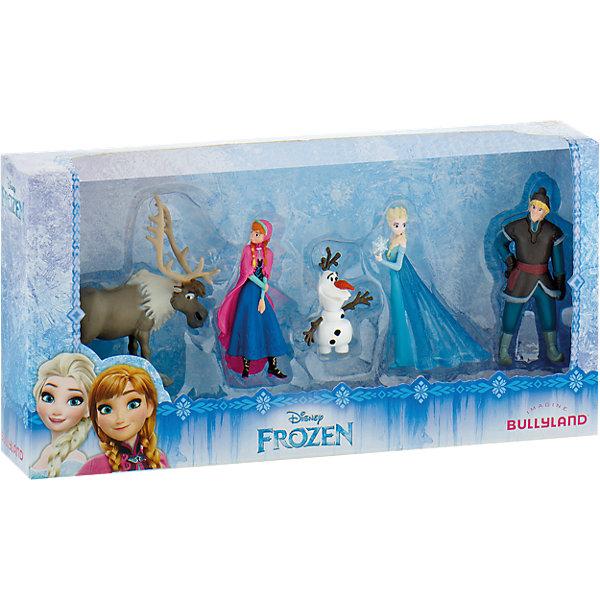 BULLYLAND Подарочный набор из 5 фигурок, Холодное сердце фигурки игрушки bullyland набор холодное сердце эльза анна