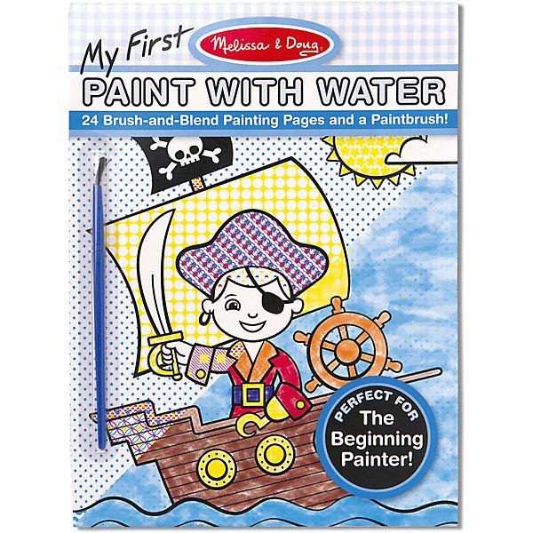 Купить Набор для творчества Впервые рисуем водой , голубой, Melissa & Doug, Китай, Мужской