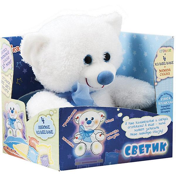 Интерактивная мягкая игрушка Dream Makers Мишка-светик