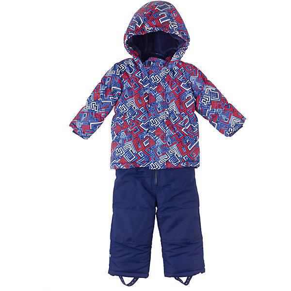Комплект: куртка и брюки для мальчика PlayTodayКомплекты<br>Комплект для мальчика PlayToday Комплект из куртки и полукомбинезон на холодную погоду из непромокаемой ткани. Дополнительно утеплен велюровой подкладкой. Капюшон отстёгивается. Карманы на липучках. Удобная молния, дополнительные застежки-липучки на куртке. Также есть дополнительная защита от ветра и снега как в спортивных куртках. Низ утягивается стопперами. Дополнительная трикотажная резинка на рукавах. Есть держатели для перчаток, светоотражатели и специальные нашивки, чтобы можно было подписать владельца. Состав: Верх: 100% полиэстер, подкладка: 80% хлопок, 20% полиэстер, Утеплитель 100% полиэстер<br>Ширина мм: 190; Глубина мм: 74; Высота мм: 229; Вес г: 236; Цвет: синий; Возраст от месяцев: 6; Возраст до месяцев: 9; Пол: Мужской; Возраст: Детский; Размер: 74,86,92,80; SKU: 4229078;
