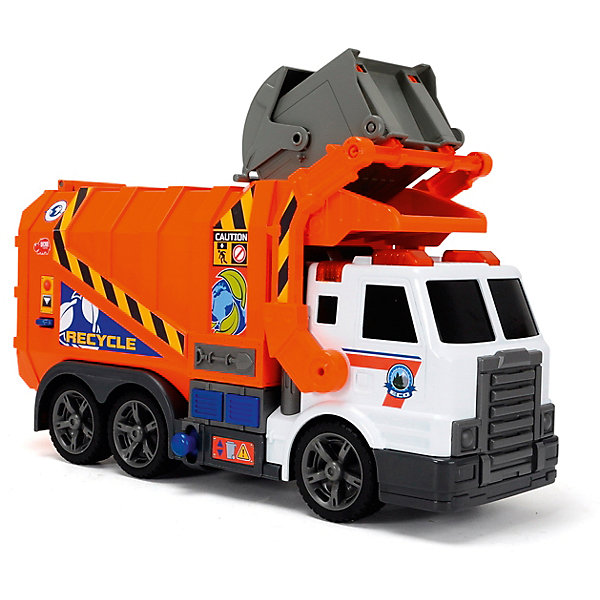 Dickie Toys Мусоровоз, 41 см, Dickie Toys dickie toys мусоровоз heavy city truck