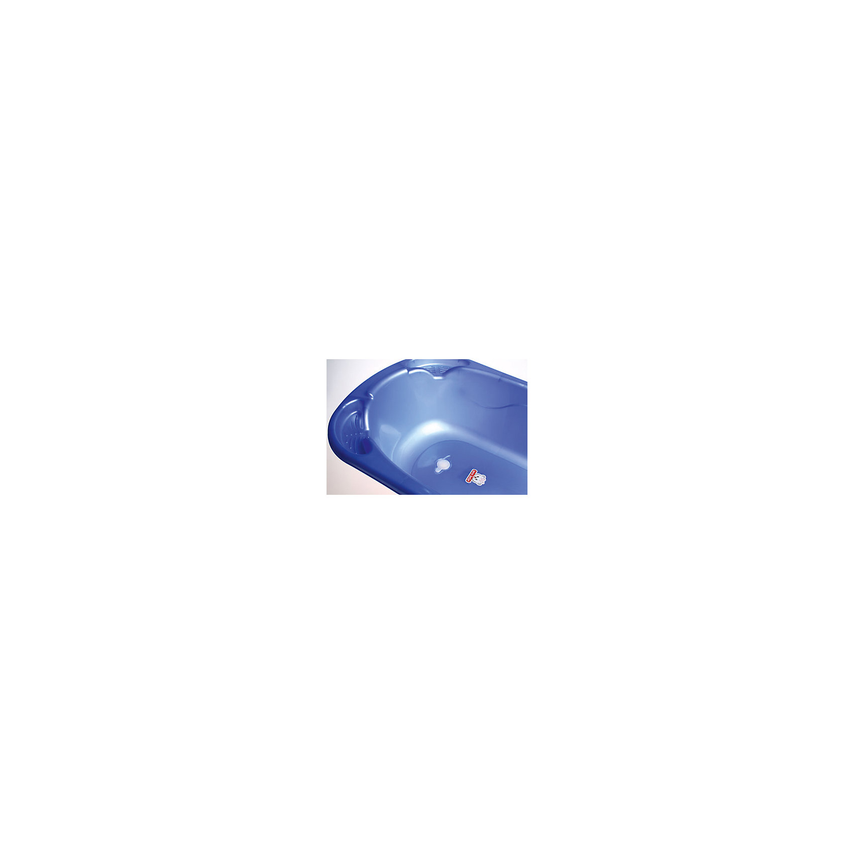 Ванночка со сливом Sevi baby, голубой (Sevi Baby)