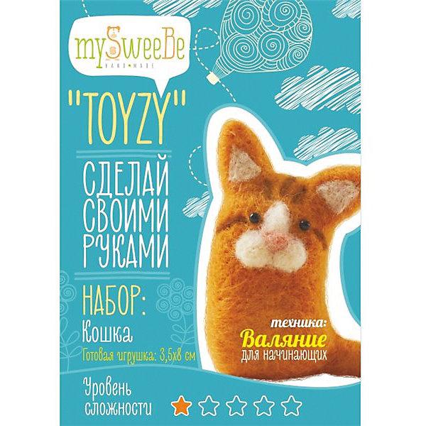 TOYZY Набор для валяния Toyzy Кошка toyzy набор для валяния toyzy лисичка