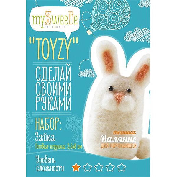 TOYZY Набор для валяния Toyzy Зайка toyzy набор для валяния toyzy божья коровка